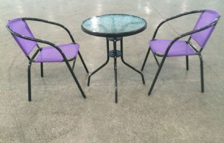 SupaGarden Bistro Stacking Set - Purple